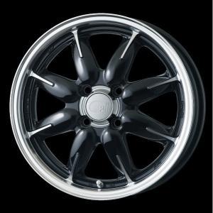 ENKEI エンケイ all one オールワン ブラック 黒 165/55R15 国産タイヤ ホイール4本セット  ウェイク ワゴンR タント Nワゴン アルト 送料無料 rensshop