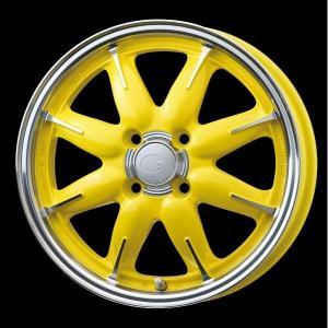 ENKEI エンケイ all one オールワン イエロー 黄 165/50R15 Kカー 国産タイヤ 4本セット バモス アトレー 送料無料|rensshop