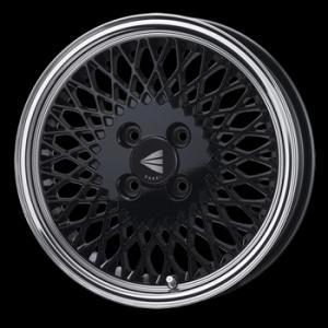 ENKEI エンケイ 92 メッシュ ブラック 165/50R15 Kカー 国産タイヤ 4本セット パレット ルークス MH21ワゴンR 送料無料|rensshop