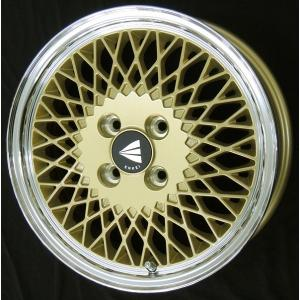 ENKEI エンケイ 92 メッシュ ゴールド 165/50R15 Kカー 国産タイヤ 4本セット パレット ルークス MH21ワゴンR 送料無料|rensshop