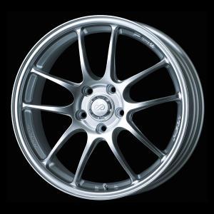 送料無料 ENKEI エンケイ PF01 シルバー 軽量 215/45R17 国産タイヤホイール 4本セット プリウス 86 レクサスCT|rensshop
