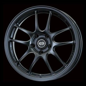 ENKEI エンケイ PF01 ブラック 軽量 7.5J +45 215/45R17 国産タイヤホイール 4本セット プリウス 86 レクサスCT 送料無料|rensshop