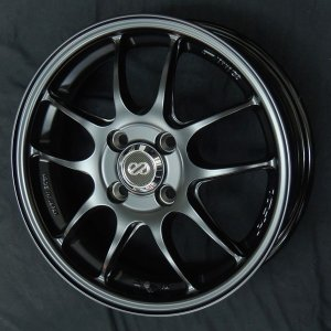 エンケイ PF01 マットブラック  送料無料 165/55R15 タイヤ ホイール4本セット タント ワゴンR ウェイク スペーシア エブリィ|rensshop