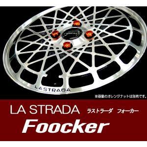 コペン ハスラー キャスト 送料無料 ラストラーダ フォーカー Foocker  165/50R16 国産タイヤ ホイール4本セット 旧車 ネオクラ|rensshop