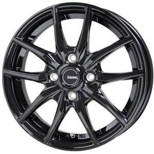 G.speed G-02 Gスピード G02 ブラック 165/50R15 国産 タイヤホイール4本セット パレット バモス ライフ 送料無料 rensshop