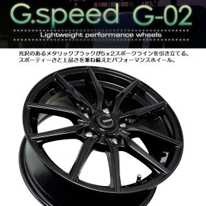 G・SPEED G02 ブラック 215/45R18 国産タイヤ 4本セット  ノア VOXY エスクァイア 送料無料|rensshop