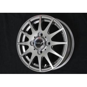 ティラードγ ガンメタ 145R12 6PR ブリヂストン タイヤ4本セット 荷重対応 軽トラ 等に 送料無料 rensshop