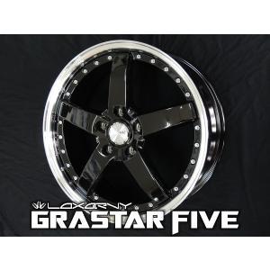 ロクサーニ グラスターファイブ ブラック 225/35R19 国産タイヤ ホイール4本セット PCD114.3 ノア VOXY エスクァイア 送料無料 rensshop