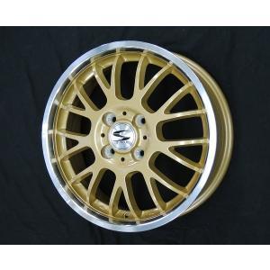 グランツ ゴールド 165/50R15 国産 タイヤ ホイール4本セット バモス アトレー  送料無料 rensshop