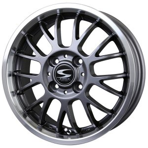 グランツ ガンメタ 165/50R15 国産タイヤSET バモス アトレー 送料無料|rensshop