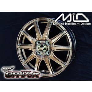 ファイナルスピードGR-Volt ボルト ハイメタブロンズ165/55R15 国産タイヤ ホイール4本セット N-BOX ウェイク キャスト 送料無料|rensshop