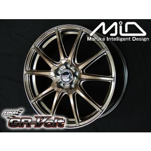 送料無料 ファイナルスピードGR-VOLT ボルト ブロンズ 215/45R17 タイヤ ホイール4本セット PCD100 プリウス レクサスCT PHV 86 BRZ|rensshop