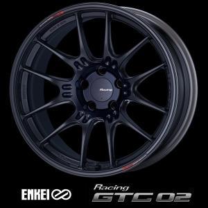 送料無料 86 BRZ  ENKEI エンケイ レーシング GTC02  マットブラック 国産 軽量 F 8.0J +45 / R 9.0J+42 225/40R18 255/35R18 ホイール4本セット|rensshop