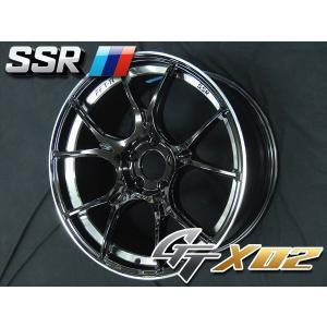 送料無料 レヴォーグ オデッセイ ヴェゼル 225/45R18 SSR GTX02 グロスブラック タイヤ ホイール4本セット|rensshop