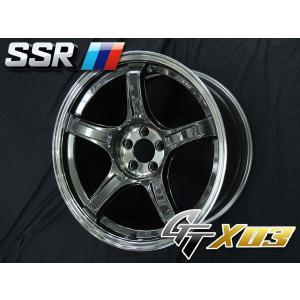 SSR スピードスター GTX03 マシンドグラファイトガンメタ 86 BRZ  F 85+45 / R 95+38 国産タイヤ 225/40R18 255/35R18|rensshop