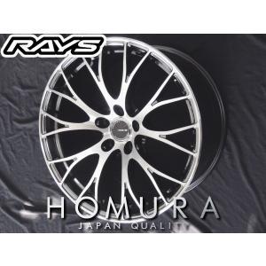 RAYS レイズ HOMURA ホムラ 2×10 RCFHX メッキ×ポリッシュ 軽量 19インチ 215/35R19 国産タイヤ ホイール4本セット プリウス レクサスCT 86 送料無料|rensshop