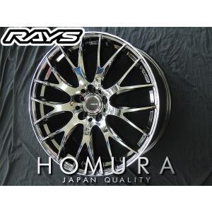送料無料★RAYS レイズ HOMURA ホムラ 2×9 JET-BLACK メッキ 軽量 19インチ 215/35R19 タイヤ ホイール4本セット プリウス レクサスCT 86 BRZ|rensshop