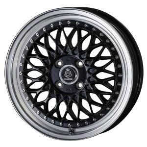 N-BOX タント キャンバス エブリィ シックスセンス ジュール JM-18 グロスブラック メッシュ 軽自動車 165/45R16 国産タイヤ ホイール4本セット 送料無料|rensshop
