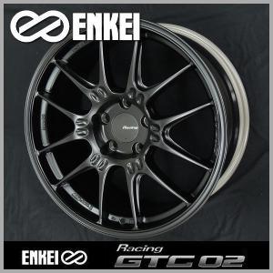 カローラスポーツ ENKEI エンケイ レーシング GTC02 マットブラック 国産 軽量 8.0J +45 PCD100-5 225/40R18 ケンダ タイヤ ホイール4本セット 送料無料|rensshop