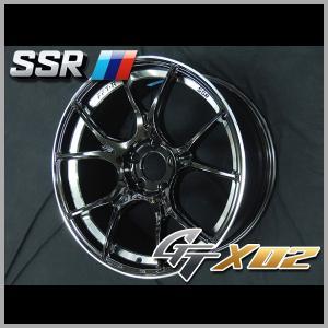送料無料 プリウス PHV レクサスCT 86 BRZ 225/40R18 SSR GTX02 グロスブラック 8.5J タイヤ ホイール4本セット|rensshop