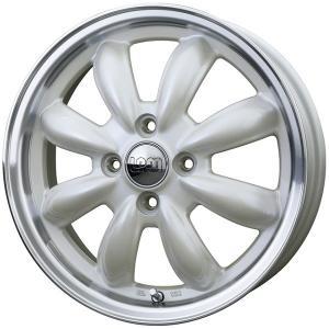 ララパームCUP ホワイト 白 165/50R15 国産 タイヤホイール4本セット パレット バモス ライフ 等 送料無料 rensshop