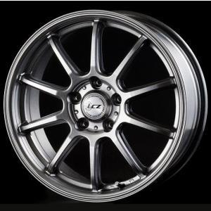 送料無料★インターミラノ LCZ-010 軽量 215/40R18 国産タイヤ ホイール 4本セット プリウス 86 BRZ レクサスCT rensshop