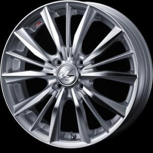 送料無料 WEDS レオニスVX HSMC 205/45R17 国産タイヤSET アクア 12キューブ等|rensshop