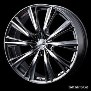 ノア VOXY ステップワゴン エスクァイア等に!送料無料★レオニスWX BMCMC メッキ 225/35R19 国産タイヤ ホイール4本セット|rensshop