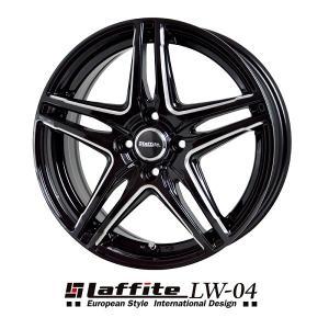 ラフィットLW-04 165/55R15 国産 タイヤホイール4本セット ワゴンR ムーブ N-BOX キャンバス タント 送料無料 rensshop