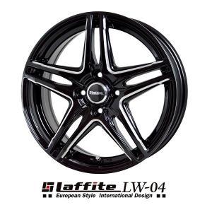 ラフィットLW-04 ブラックマシニング 175/65R15 国産タイヤ アクア キューブ フィルダー 送料無料|rensshop