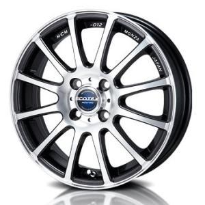 送料無料 モンツァ エコテックMCM012 軽量ホイール 205/45R17 国産タイヤ ホイール4本セット アクア 12キューブ 12ノート スペイド 等|rensshop