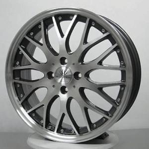 ロクサーニ マルチフォルケッタ 205/40R17 国産タイヤ ホイール4本セット フィット マーチ デミオ 送料無料|rensshop