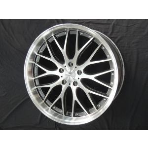 レクサスNX ハリアー ロクサーニ マルチフォルケッタ ガンメタポリッシュ 9.0J 245/35R22 国産タイヤ 送料無料|rensshop