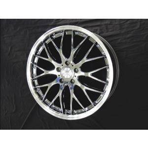 アルファード ヴェルファイア ロクサーニ マルチフォルケッタ SBC メッキ 8.5 245/40R20 国産タイヤ4本セット 送料無料|rensshop