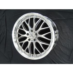 レクサスRX ロクサーニ マルチフォルケッタ ハイパーシルバーリムポリッシュ 265/40R22 国産タイヤ 22インチ 送料無料|rensshop