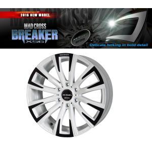 送料無料 マッドクロス ブレイカーXS6 白 グッドイヤー ナスカー 215/65R16 109/107R (荷重対応) ホワイトレター 200系ハイエース タイヤホイール4本セット|rensshop