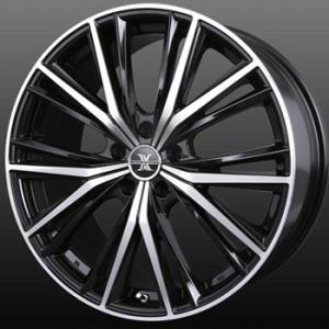 ナットサービス ロクサーニ マグナス 8.0J 225/45R19 国産タイヤ ホイール4本セット CHR C-HR アテンザ エスティマ 送料無料|rensshop