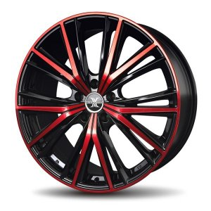 ナットサービス ロクサーニ マグナス レッド 8.0J 225/45R19 国産タイヤ ホイール4本セット CHR C-HR アテンザ エスティマ 送料無料|rensshop