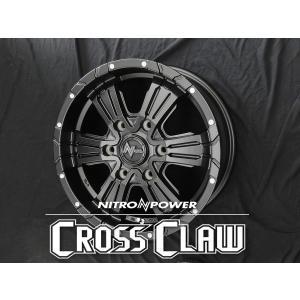 送料無料 ナイトロパワー クロスクロウ SBK グッドイヤー イーグル ナスカー 215/65R16 109/107R ホワイトレター NV350キャラバン用 タイヤ ホイール4本セット|rensshop