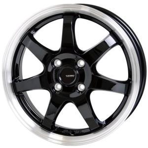 パレット バモス ライフ G.speed P03 ブラック 155/65R13 グッドイヤー 国産タイヤ ホイール4本セット 送料無料 rensshop