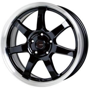86 BRZ プリウス PHV レクサスCT G・SPEED P-03 ブラック 215/45R17 国産タイヤ ホイール4本セット PCD100 送料無料|rensshop