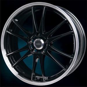 送料無料★クロススピードプレミアム6ライト ブラックリムポリッシュ 215/45R17 国産タイヤSET プリウス 86 レクサスCT等|rensshop