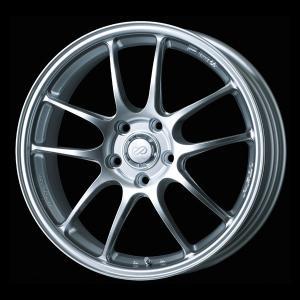 ENKEI エンケイ PF-01 シルバー 国産 軽量 ホイール 215/40R18 国産タイヤ ホイール 4本セット プリウス 86 レクサスCT 送料無料|rensshop