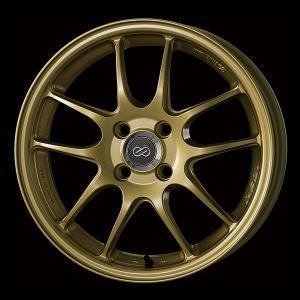 エンケイ PF01 新色★ ゴールド 165/55R15 国産タイヤ ホイール4本セット パレット ルークス MH21ワゴンR 送料無料 rensshop