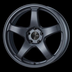 ENKEI エンケイ PF05 マットダークガンメタ 225/45R18 タイヤホイール4本セット 7.5J 5穴PCD114.3 レヴォーグ オデッセイ 送料無料|rensshop