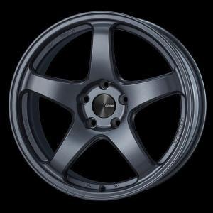 レヴォーグ 等に エンケイPF05 マットダークガンメタ 7.5J +48 5穴PCD114.3 225/45R18 国産タイヤ ホイール4本セット 送料無料|rensshop