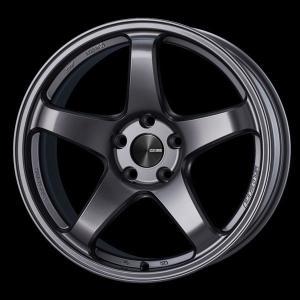レヴォーグ 等に エンケイPF05 ダークシルバー 7.5J +48 5穴PCD114.3 225/45R18 国産タイヤ ホイール4本セット 送料無料|rensshop