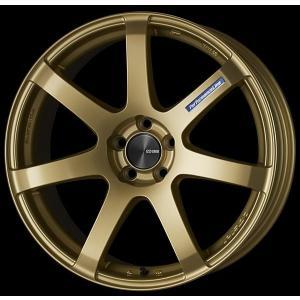 レヴォーグ オデッセイ ヴェゼル 送料無料ENKEI エンケイ PF07 ゴールド 225/45R18 タイヤホイール4本セット 7.5J 5穴PCD114.3|rensshop
