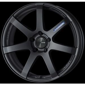 ENKEI エンケイ PF07 マットダークガンメタ 225/45R18 国産タイヤホイール4本セット 7.5J 5穴PCD114.3 レヴォーグ オデッセイ 送料無料|rensshop