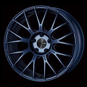 ENKEI エンケイ PFM1 ミスティブルー 225/45R18 国産タイヤホイール4本セット 7.5J 5穴PCD114.3 レヴォーグ オデッセイ 送料無料|rensshop